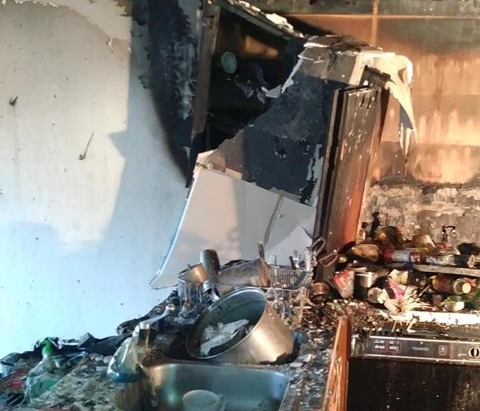 Fire Damage National Preparedness Month: Home Fires