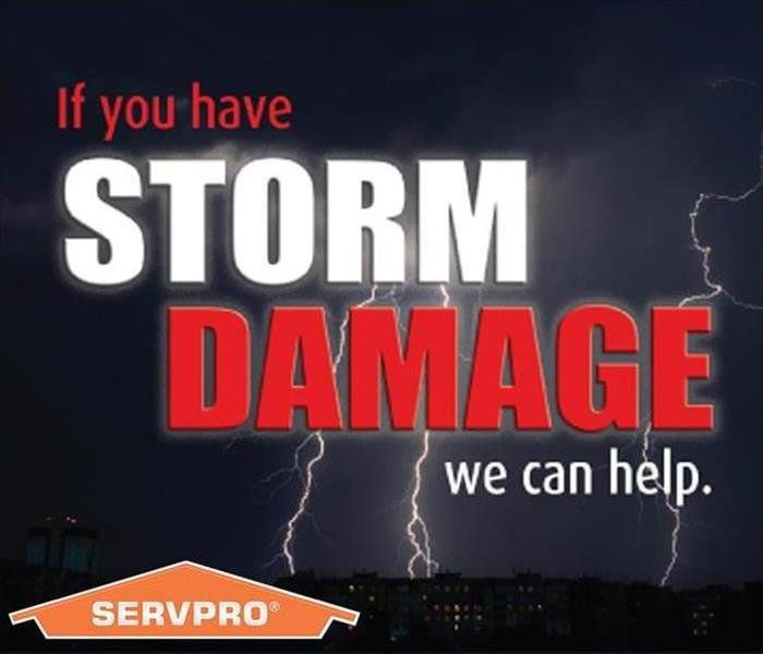 Storm Damage When Storms or Floods hit Lehigh County, SERVPRO is ready!